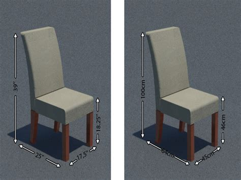 Dining Room Chair Dimensions Jeriko Us Inspiration Your Home And Interior