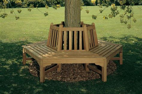 hexagonal tree bench hexagonal teak tree stump bench sloane sons
