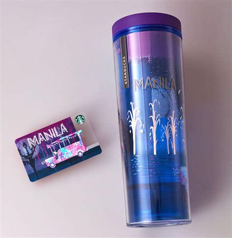 Starbucks Tumbler Iconic City new manila cebu se siren starbucks cards out soon