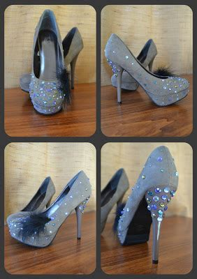diy rhinestone shoes the for the shoe create a look for less