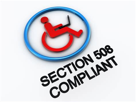 Section 508 Requirements by 508 Compliant What Does Section 508 For You