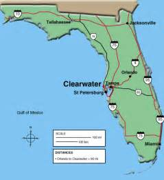 map of clearwater florida and surrounding areas maps clearwater chamber of commerce