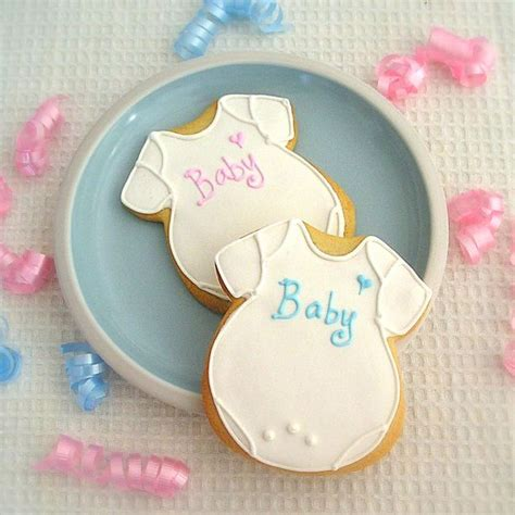 How To Make Baby Shower Cookies Favors by Onesies Cookies
