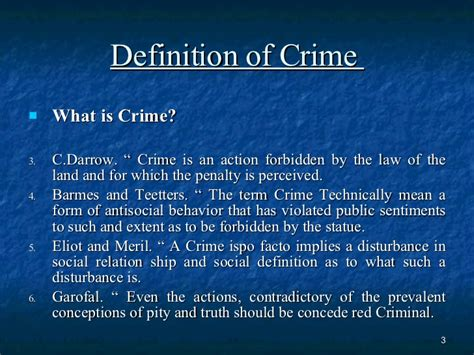 What Is The Meaning Of L by Bba L13 Dt Crime And