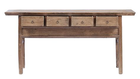 Vintage Console Table Antique Console Table With Drawers Le036 Custom Furniture Gallery