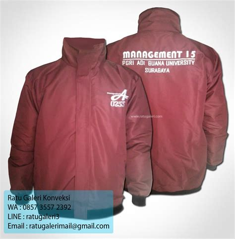 desain jaket waterproof hasil produksi dan desain jaket management 15
