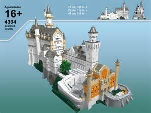Neuschwanstein Castle Floor Plan Moc Castle Neuschwanstein Lego Historic Themes