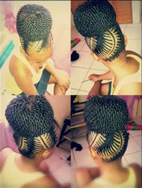 fishbone hairstyle aww
