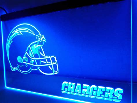 ld334 chargers helmet led neon light sign home decor