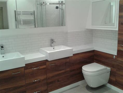 try to fit the fitted bathroom furniture to get modernized