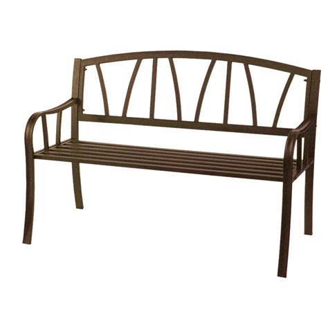 steel outdoor benches astonica 50105124 outdoor shea bronze powder coated steel