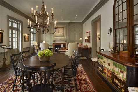 residential dining room placemats federal townhouse marguerite rodgers interior design