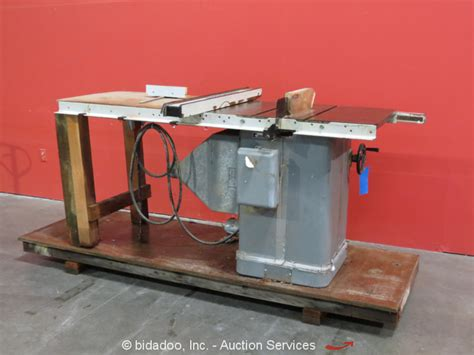 delta 10 table saw fence rockwell delta 10 quot unisaw right tilt table saw 3 hp
