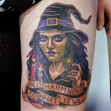 witch tattoo best tattoo design ideas