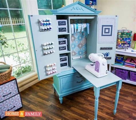 diy sewing armoire 1000 ideas about craft armoire on pinterest sewing