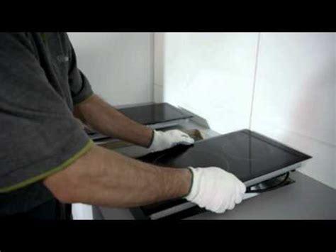 junta encimera vitroceramica placas modulares balay de f 225 cil instalaci 243 n youtube