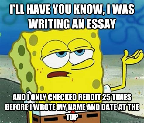Memes About Writing Papers - university of central missouri writing center ucm