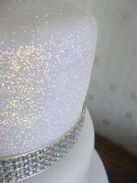Hochzeitstorte Glitzer by White Rainbow Cake Glitter Edible Sparkle For Cakes