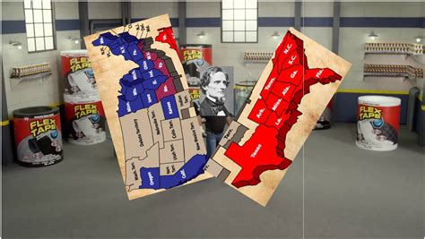 flex tape saw boat in half i sawed this country in half jontron