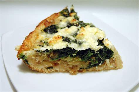 asparagus spinach feta quiche recipe dishmaps