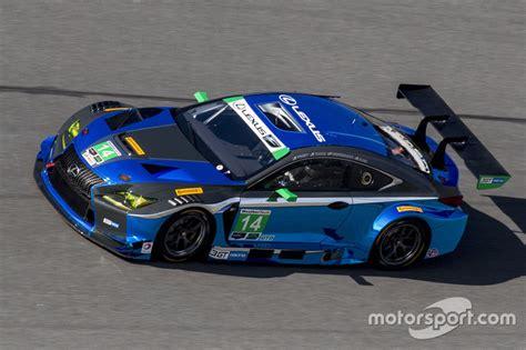 lexus racing team les nouveaut 233 s des essais de daytona motorsport com