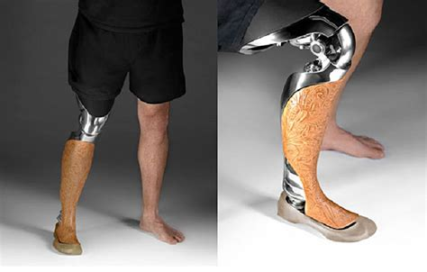 prosthetic leg for beautiful customized 3d printed prosthetic legs are made to be seen inhabitat