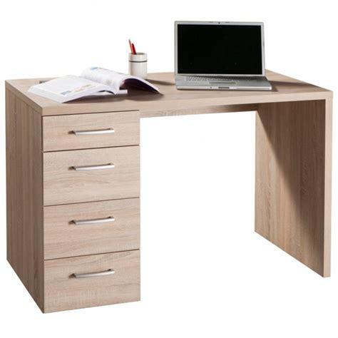 scrivania con cassetti scrivania con quattro cassetti colore rovere sonoma