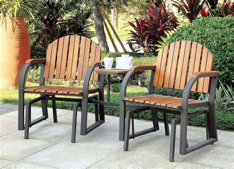 Lawn Chair With Table Attached - outdoor rocking chairs w attached table by