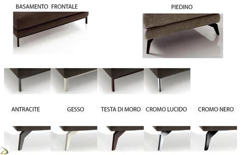 piedini per divani divano moderno componibile edas arredo design