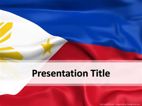 philippines powerpoint template   powerpoint