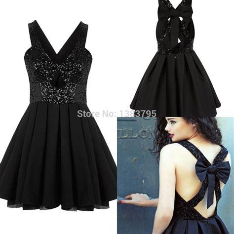 design lab black dress short sequin homecoming dresses black sexy design