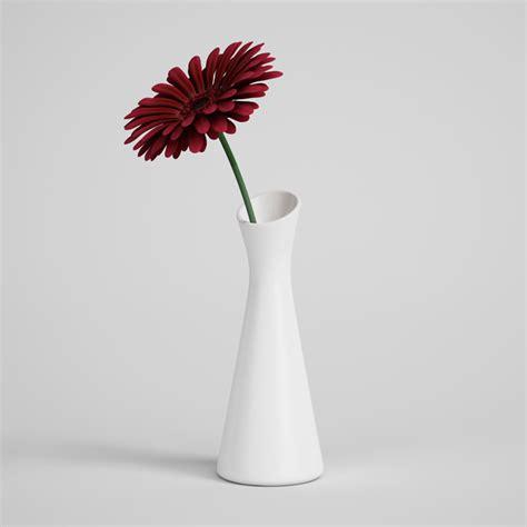 flowers in vase flower in vase 01 cgaxis 3d models store