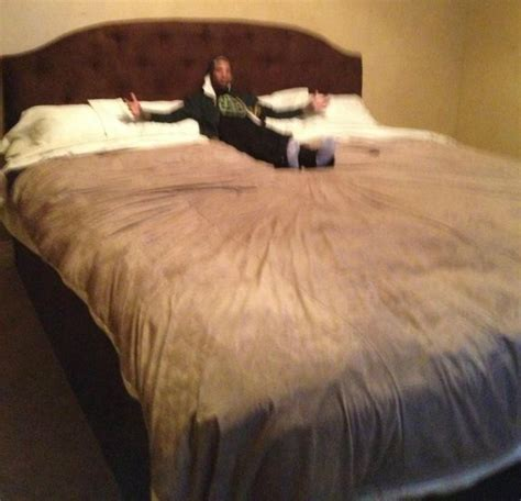 shaqs bed roy hibbert s bed makes him look average size 8x9 ft nba