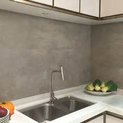 Large Tile Kitchen Backsplash Grey Effect Large Format Porcelain Tiles Used For A Modern Kitchen Splashback