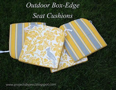 Diy Patio Chair Cushions Diy Outdoor Seat Cushions Future Crafts Pinterest