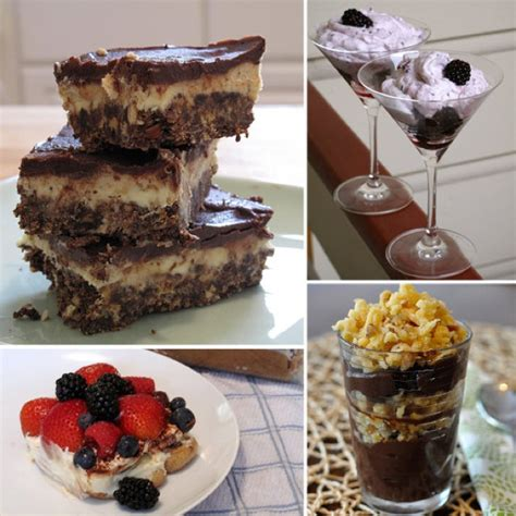 easy no bake desserts quick meals for rmh pinterest