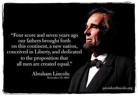 lincoln speech four score pin by retro caigns on quotes wisdom