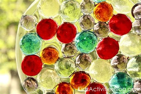 glass bead suncatchers crafts glass gem sun catchers can make