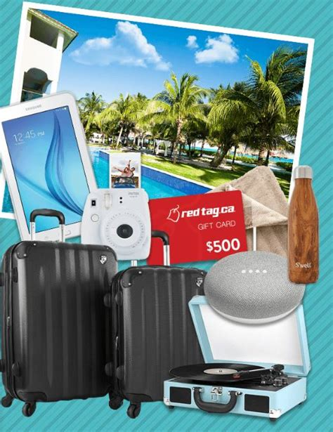 How To Win 12 Days Of Giveaways - redtag 12 days of giveaways win 1 of 12 prizes including a trip