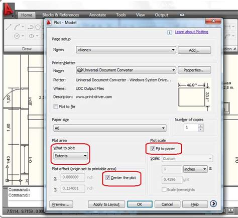 autocad tutorial how to print convert autocad dwg to jpeg universal document converter