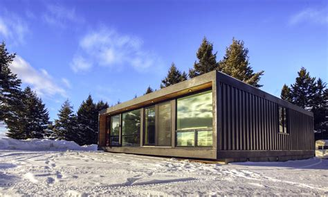 the best container houses cool material