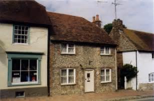Flint Cottage Alfriston flint cottage teashop 169 michael ford geograph britain and ireland