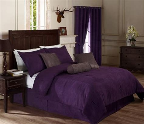 Black Master Purple King Suede Abu purple bedding calling all purple webnuggetz