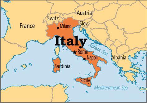 world map of italy italy operation world