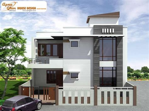 duplex house front elevation designs collection with plans 76 best images about residence elevations on pinterest