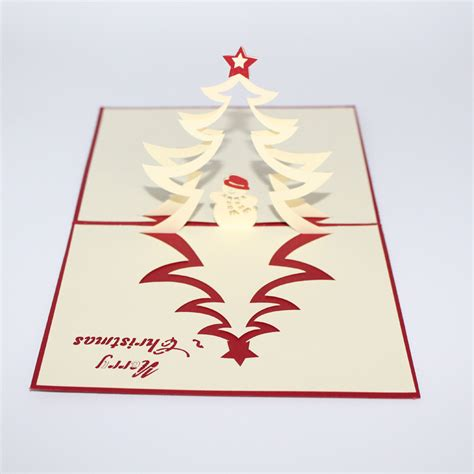 3d snowman card template tree and snowman 3d pop up greeting card
