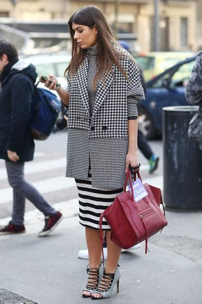 Sweater Monokrom Jumbo 5 ways to mix prints with houndstooth vaughan style