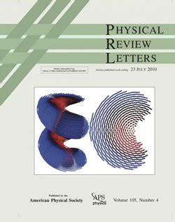 physical review letters polymer science and engineering 1539