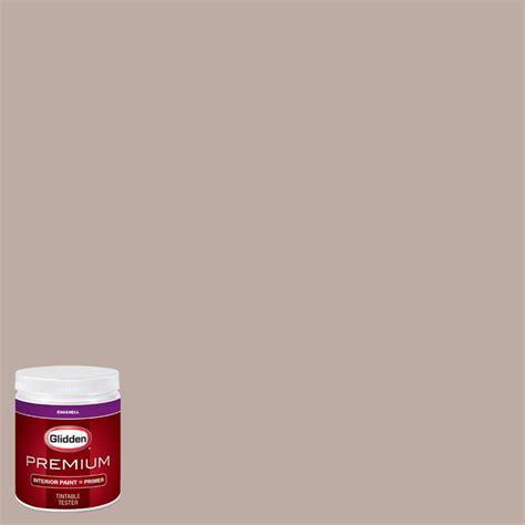 glidden premium 8 oz hdgwn10 mid day mocha eggshell interior paint with primer tester hdgwn10p
