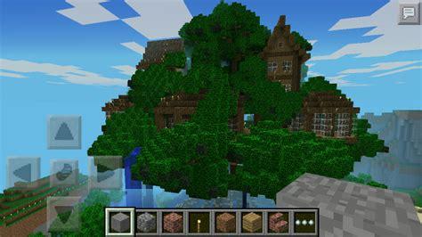 minecraft pe house seeds treehouse map minecraft pe maps